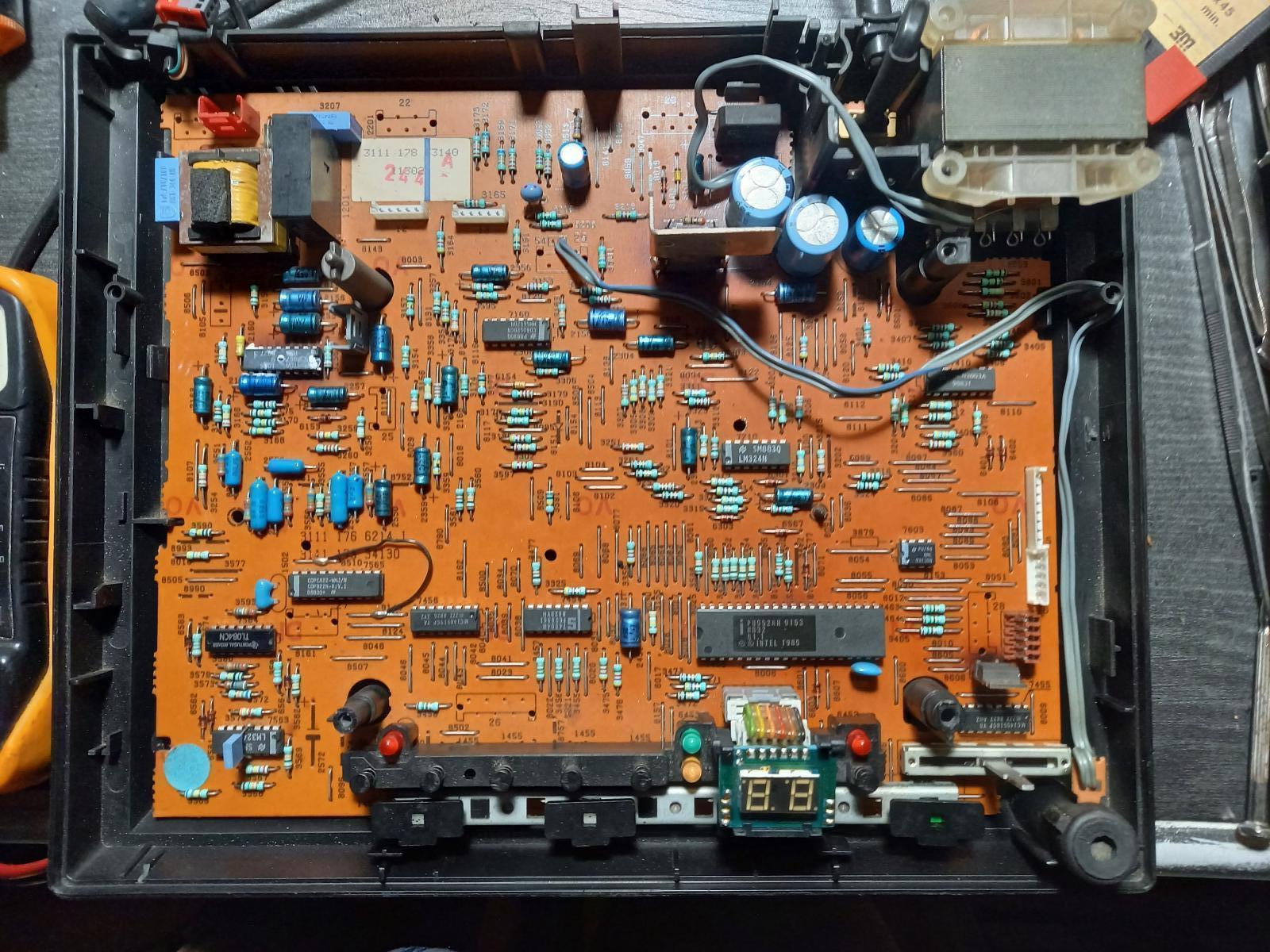 la carte du Circuit imprimé